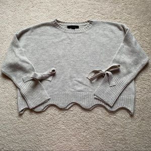 Forever 21 Cropped Contemporary Sweater